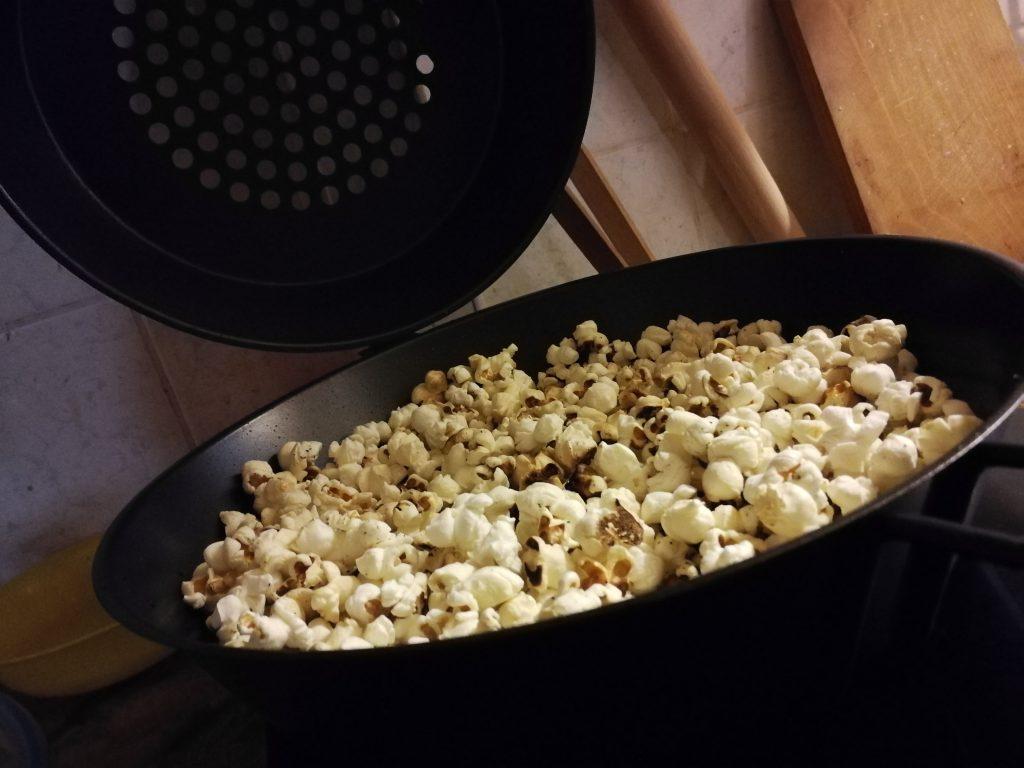 Popcorn sütő