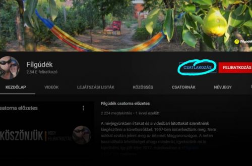 YouTube csatornatagság